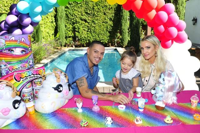 Evan Ross & Ashlee Simpson for Poopsie Slime Party
