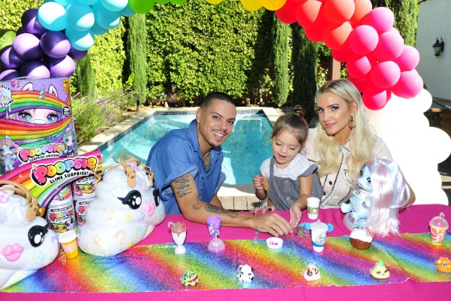 Evan Ross & Ashlee Simpson for Poopsie Slime Party
