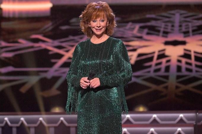 Reba McEntire hosts the 'CMA Country Christmas' special