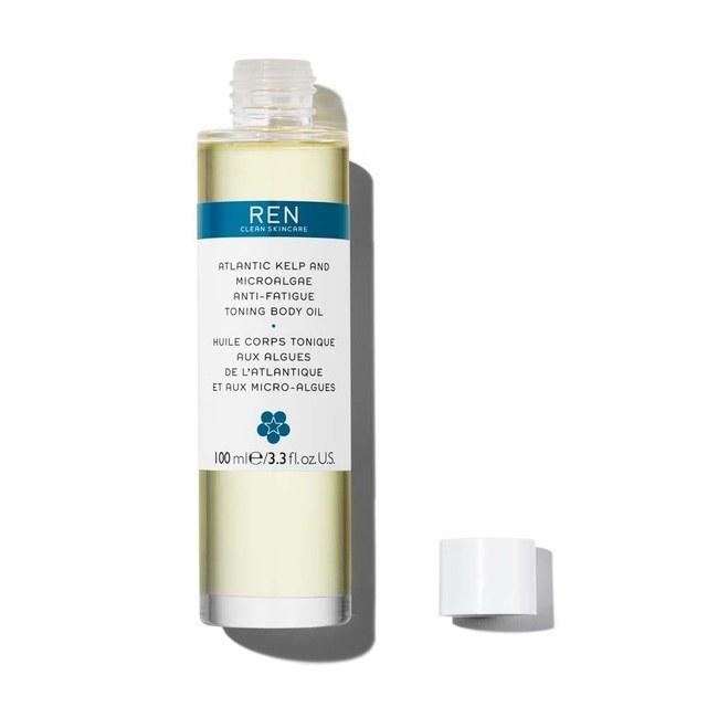 REN Clean Skincare Atlantic Kelp and Microalgae Anti-Fatigue Toning Body Oil