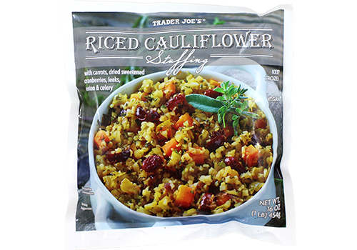 Riced Cauliflower Stuffing