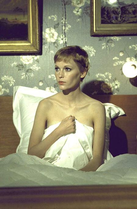 Mia Farrow as Rosemary Woodhouse