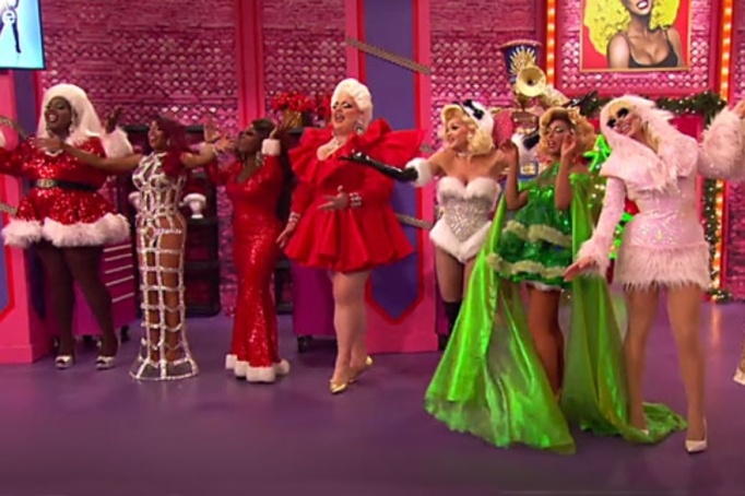 Eight queens compete on 'RuPaul's Drag Race Holi-slay Spectacular'