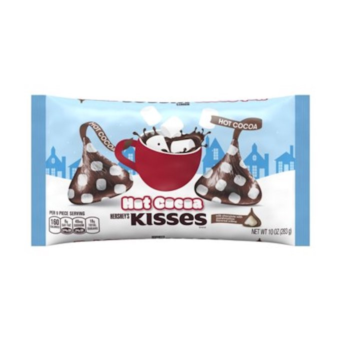 photo of Hershey's hot cocoa kisses