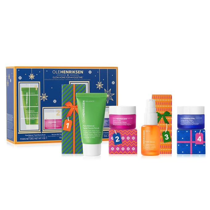 OleHenriksen Glow Home for #HyggeTime 4-Pc Skincare Advent Calendar