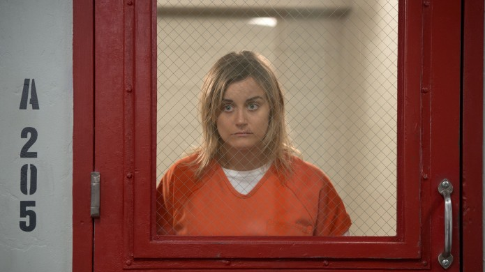 Taylor Schilling in 'Orange Is the
