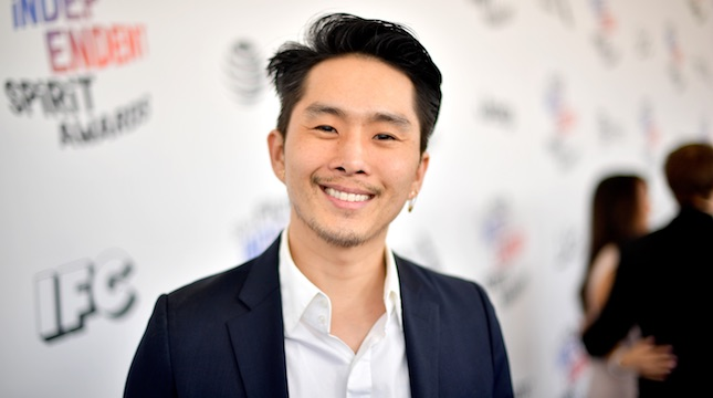 Justin Chon attends the 2018 Film Independent Spirit Awards on March 3, 2018