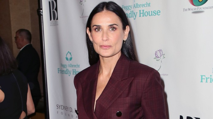 Demi Moore attends the Peggy Albrecht