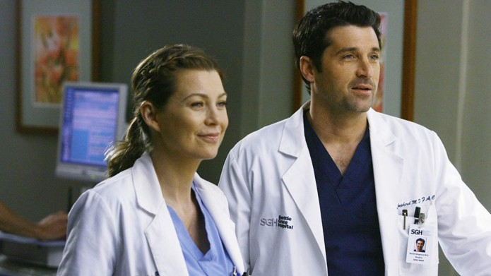 Ellen Pompeo and Patrick Dempsey in