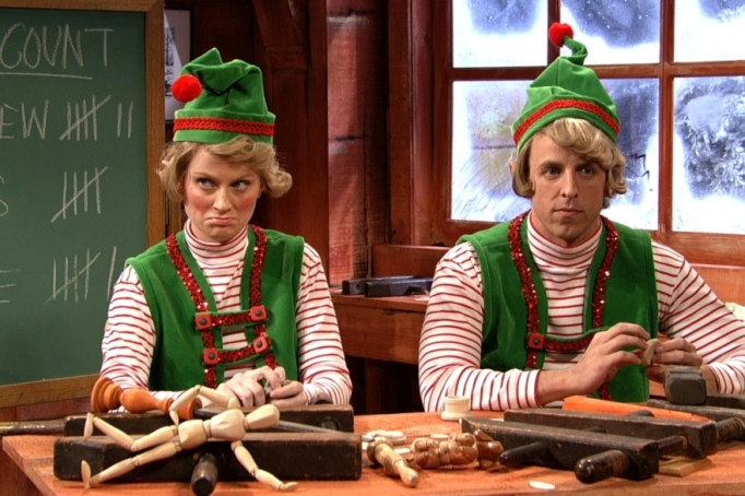 A Christmas skit from 'Saturday Night Live'