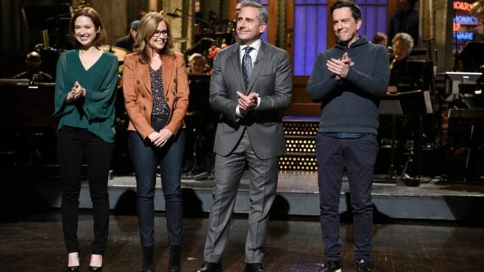 Ellie Kemper, Jenna Fischer, Host Steve