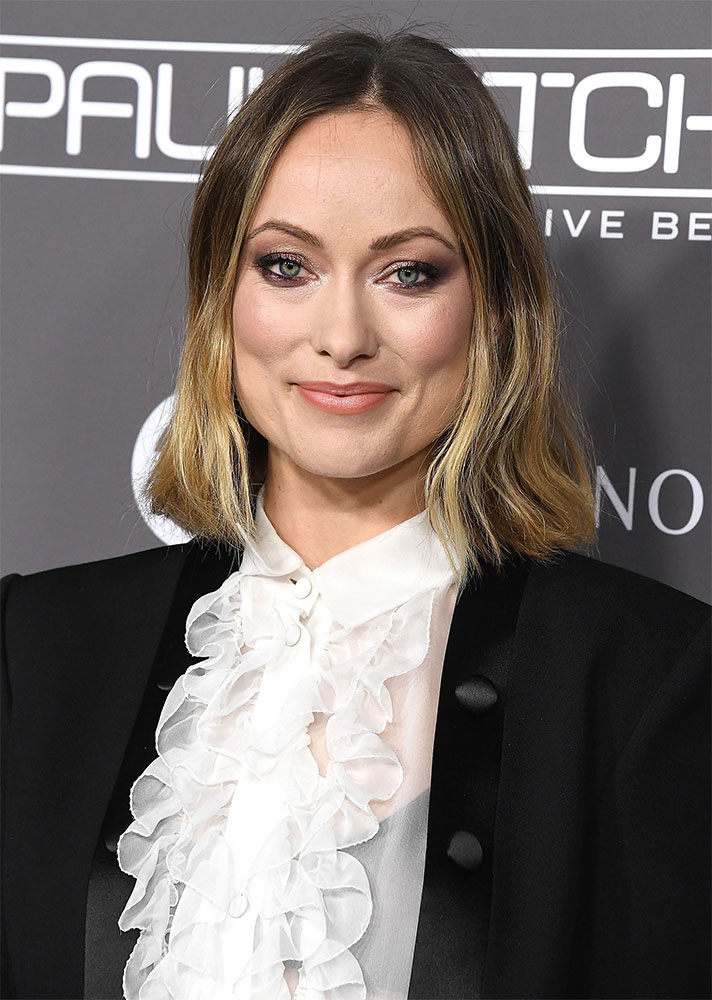 Expert-Approved Bob Haircut for Every Head Shape: Olivia Wilde square faced bob.