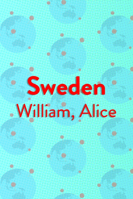 The Top Baby Names in (Almost) Every Country of the World: Sweden