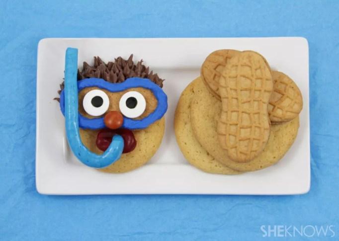 Snorkeler cookie treat
