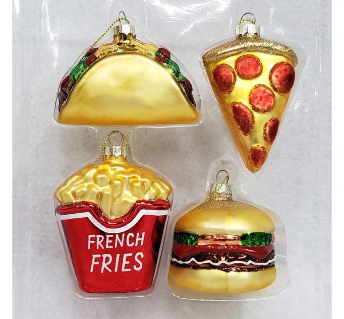 Fast food ornaments Target
