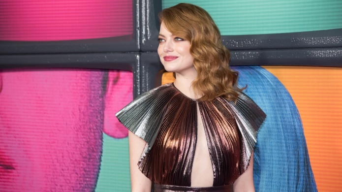 Emma Stone attends the 'Maniac' premiere