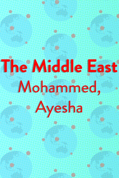 The Top Baby Names in (Almost) Every Country of the World: The Middle East