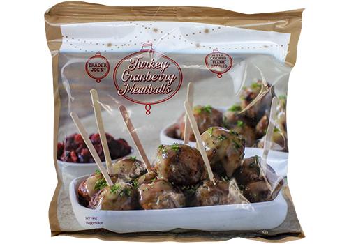 Turkey Cranberry Meatballs