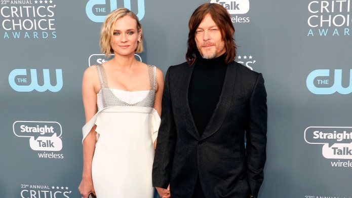 Diane Kruger and Norman Reedus attend