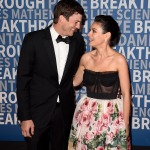 Ashton Kutcher and Mila Kunis attend the 6th Annual Breakthrough Prize at NASA Ames Research Center