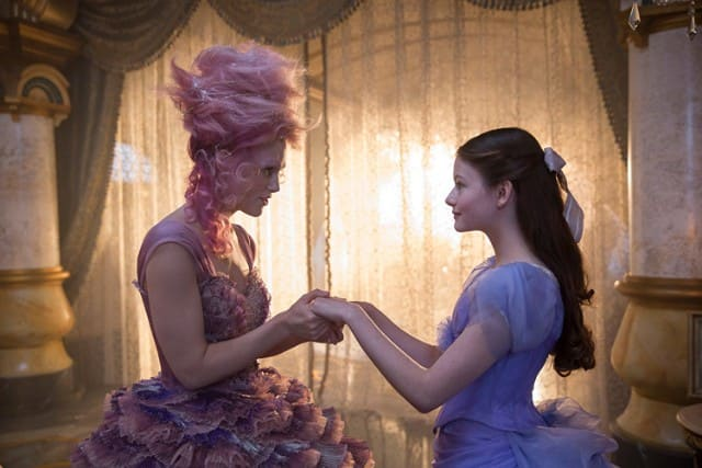 Keira Knightley and Mackenzie Foy in Disney's 'The Nutcracker and the Four Realms'