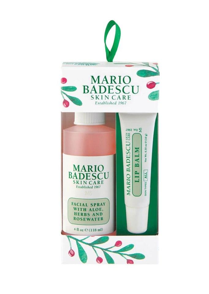 Mario Badescu Rosewater Facial Spray & Lip Balm Ornament