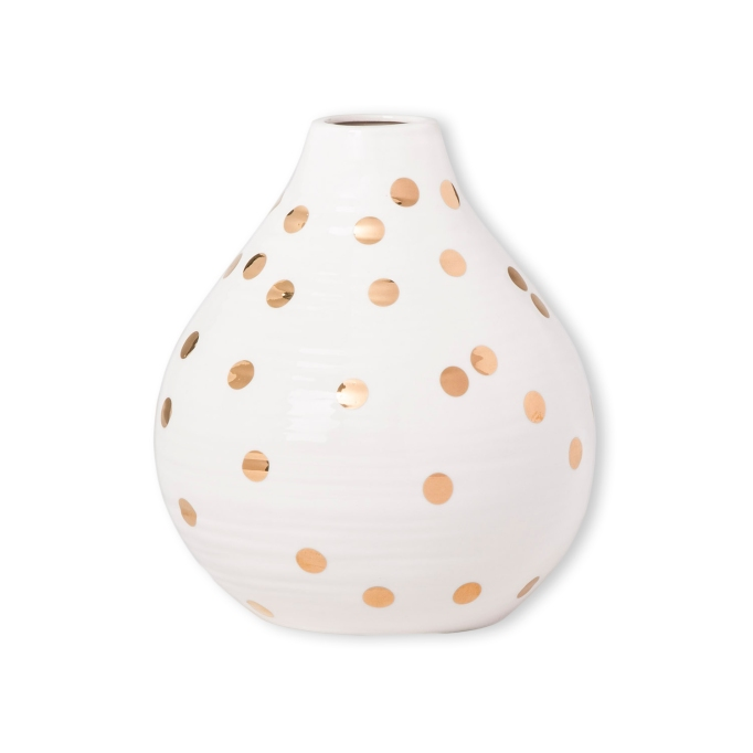 photo of small Opalhouse Gold Dot Vase