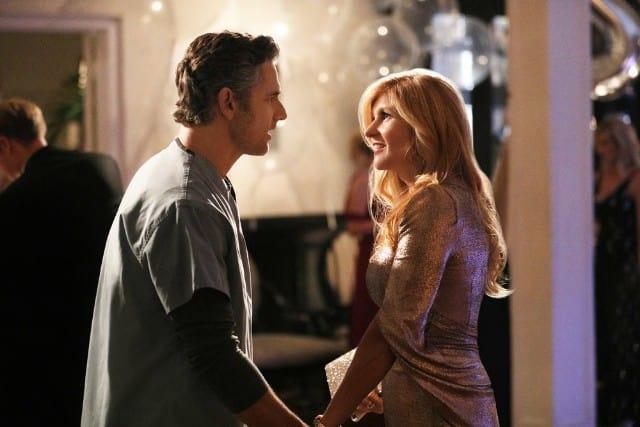 Eric Bana & Connie Britton in 'Dirty John' on Bravo