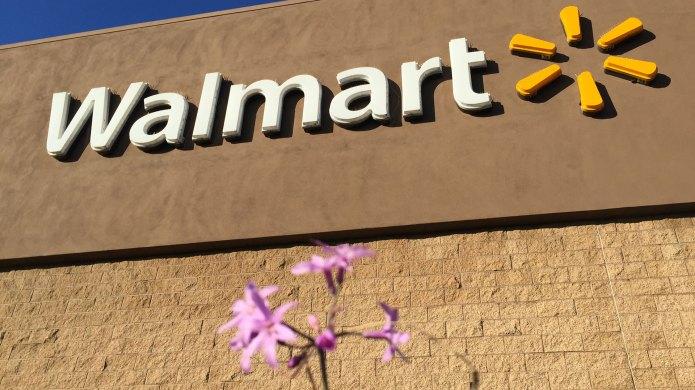 Exterior of Walmart