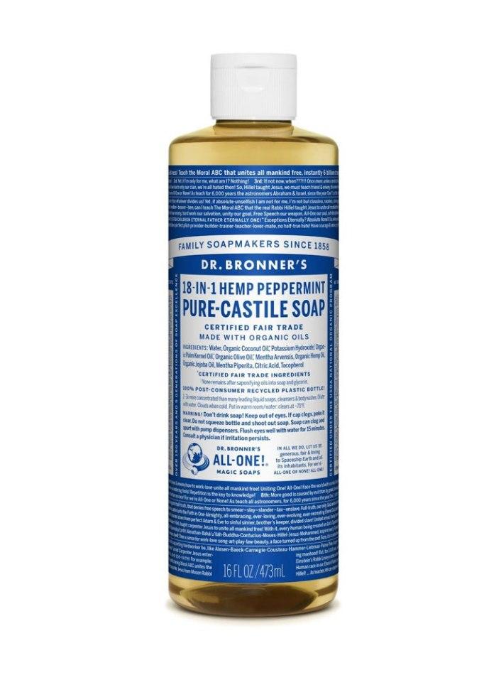 Dr. Bronner's Pure-Castile Peppermint Liquid Soap