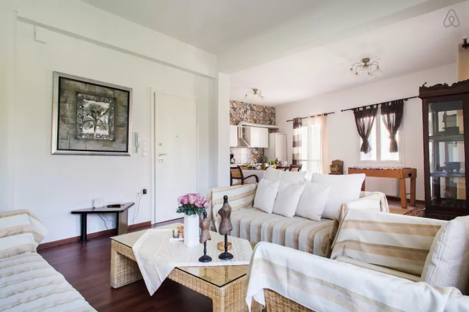 Last-Minute Valentine's Day Getaway on AirBnb: Central Apartment in Athens, Greece