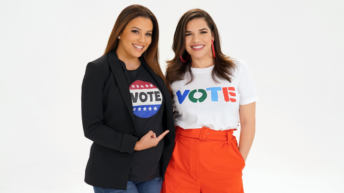Eva Longoria and America Ferrera are