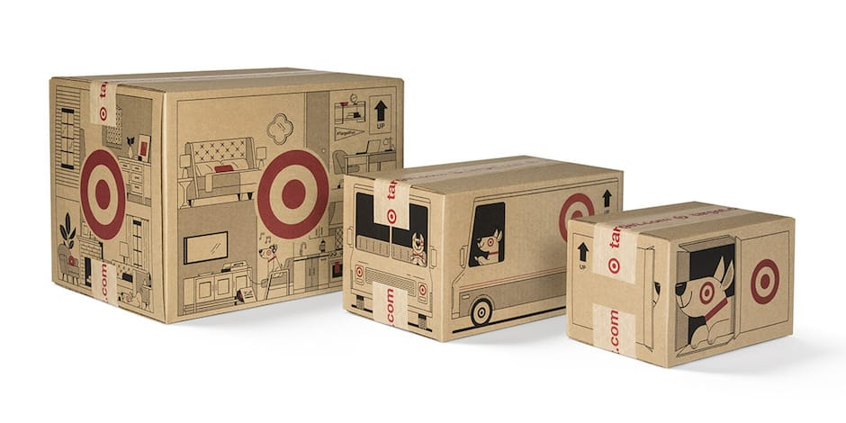Target new shipping boxes designs