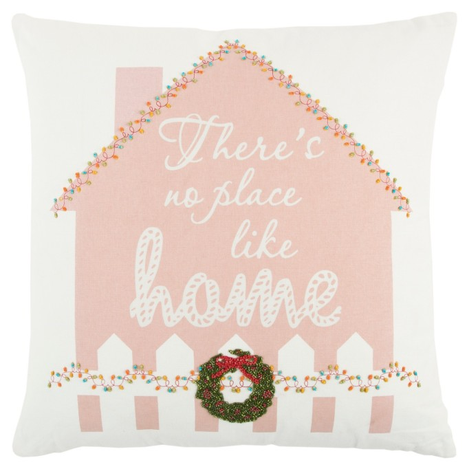 Rizzy Home 'There's No Place Like Home' pillow.