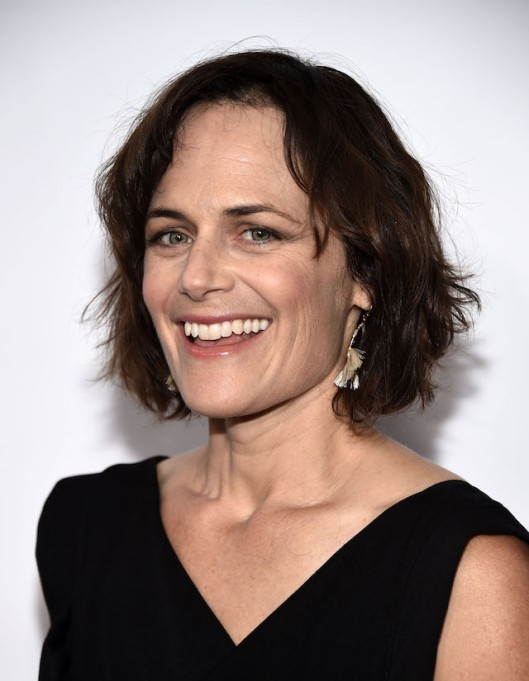 Sarah Clarke arrives at the 3rd Annual Carney Awards at The Broad Stage