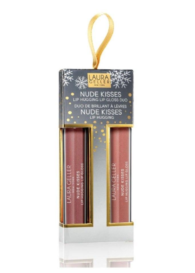 Laura Geller Nude Kisses Lip Hugging Lip Gloss Duo Ornament