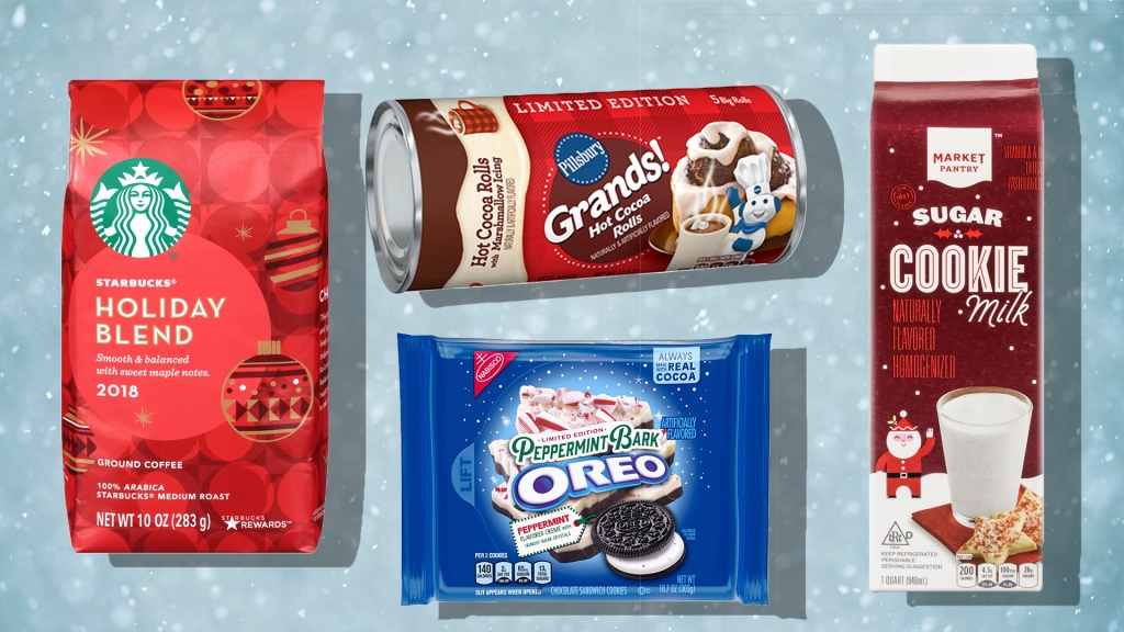 All the Limited-Edition Holiday Foods Available