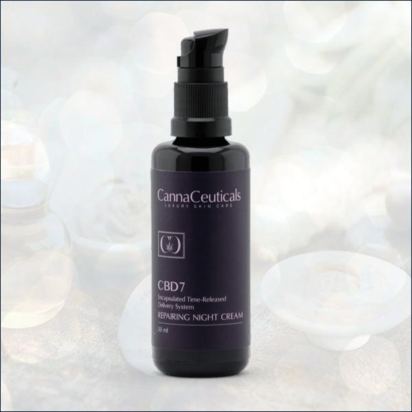 CannaCeuticals repairing night cream