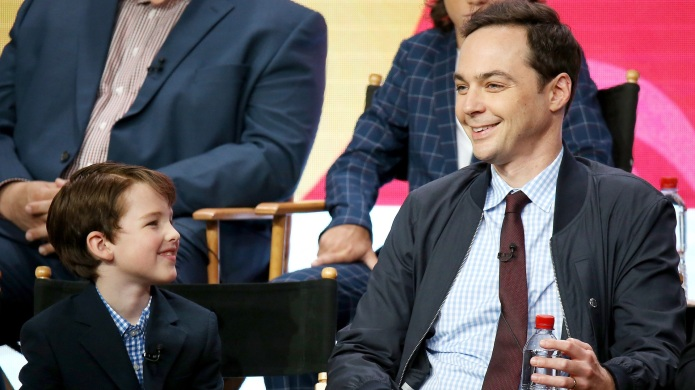 Jim Parsons and Iaian Armitage
