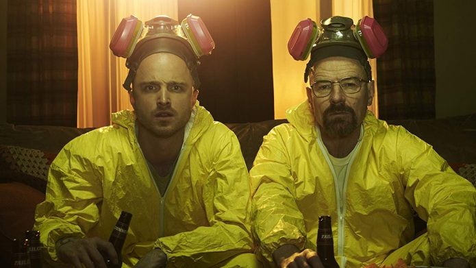 Bryan Cranston and Aaron Paul in