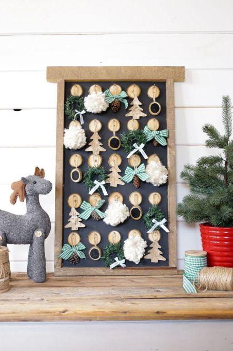 DIY Ornament Advent Calendar