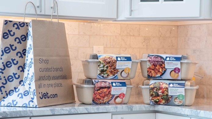 Blue Apron meal kits