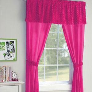 Wal-Mart sheer curtains