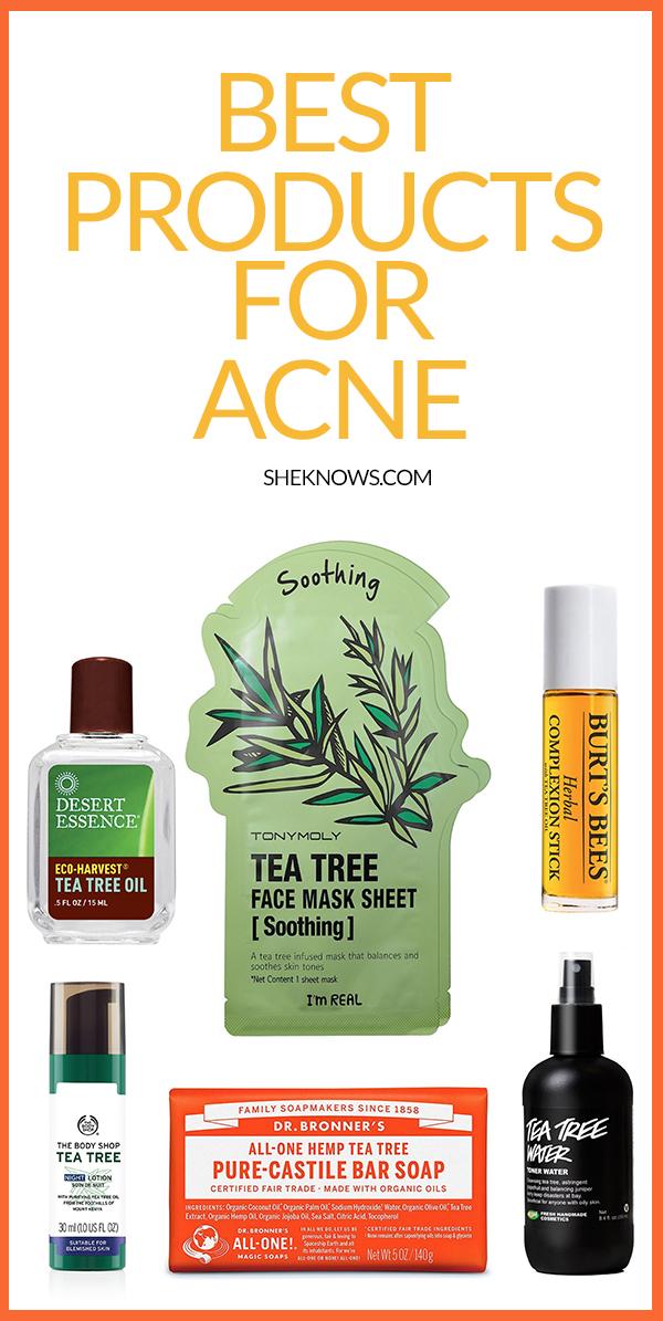 Pin it! Tea Tree Oil to Treat Acne