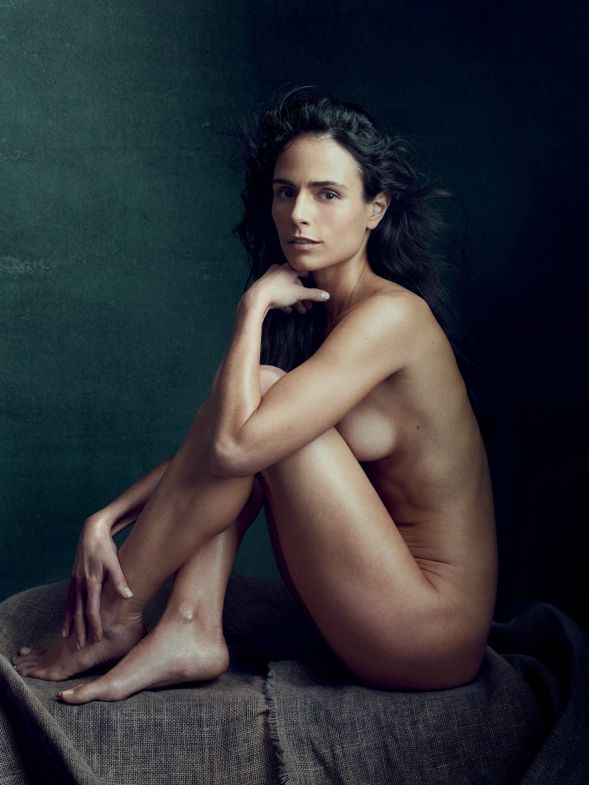 Sandrine Holt poses nude for Allure feature