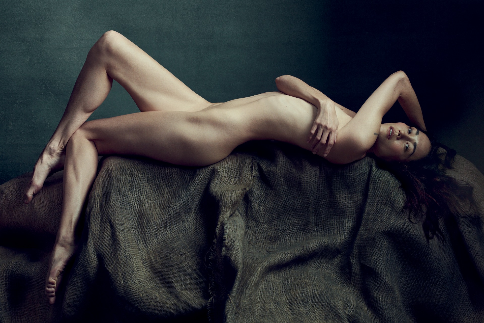 Jordana Brewster strips down for Allure nude feature