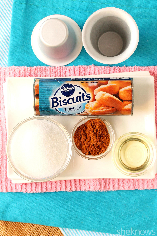 doughnut cone ingredients