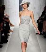 sandstone color runway fashions, designer fashion, runway style