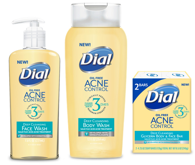 Dial Acne Control Collection