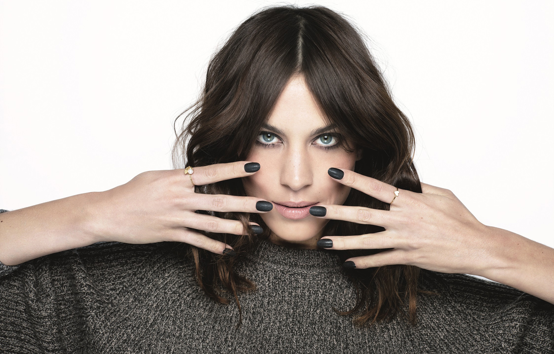 Nails inc Alexa Chung Fabric Collection